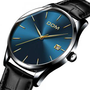 DOM M - 11bk 4892 Fashion Casual Waterproof Men Watch -