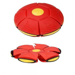 Magic Flying Deformation Saucer Ball Flash Darts Soccer Game Toy -