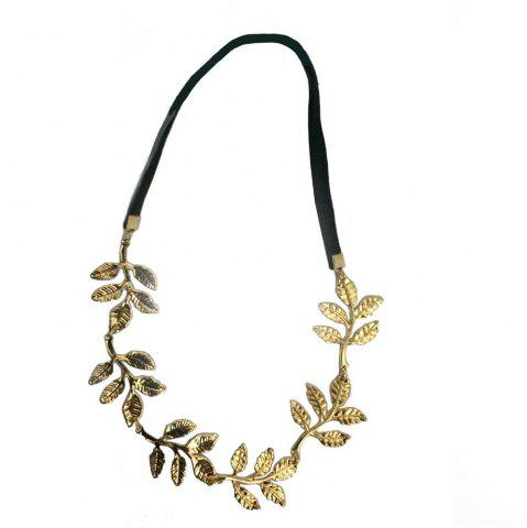 Affordable Leaves Decorative Olive Branch Decorative Hair Band Headband