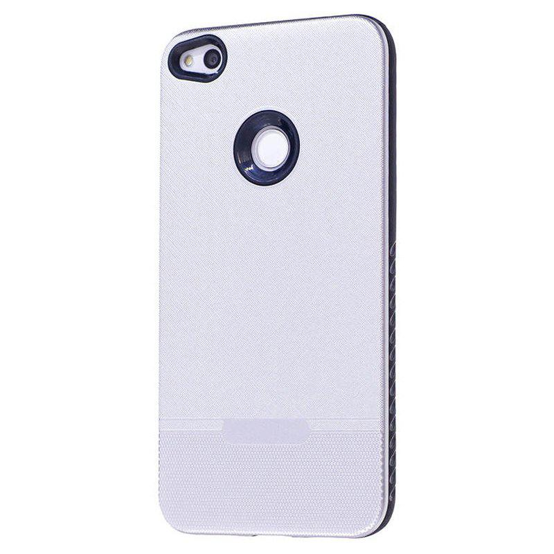 Silver cloth pattern spray paint combo phone case for for Spray paint phone case