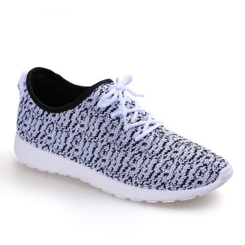 Best Korean Version  Trend Lovers Flying Net Sneakers