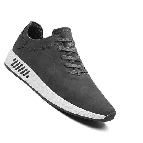 Buy Men Casual outdoor Trend for Fashion Lace Up Leather Shoes