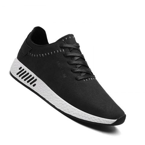 Fancy Men Casual outdoor Trend for Fashion Lace Up Leather Shoes