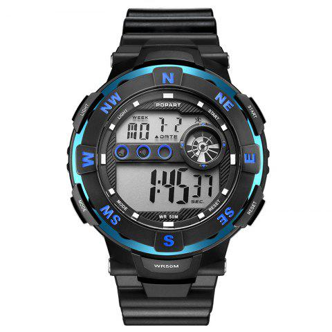 Trendy POPART POP - 831D Men Outdoor Sports Digital Waterproof Watch