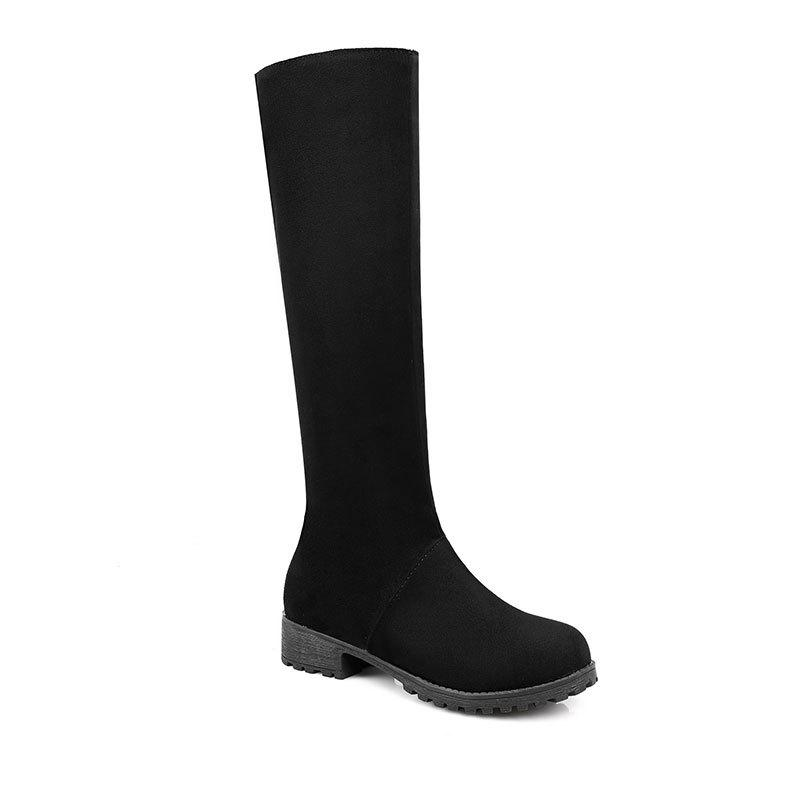 Fashion New Season Thick Low Warm Comfortable Leisure High Boots