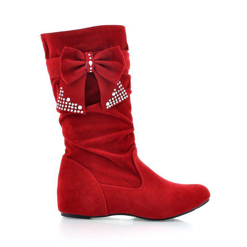 Discount Fashion Rider Lady Bows Boots