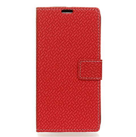 Best WovenPattern Texture Wallet Leather Stand Cover Phone Cases for iPhone X