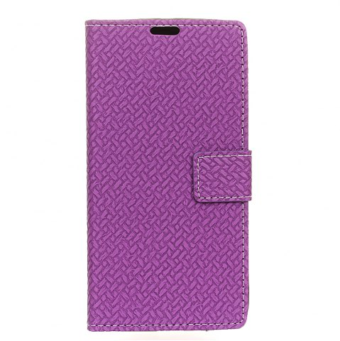 Fashion Woven Pattern Texture Wallet Leather Stand Cover Phone Cases for iPhone X