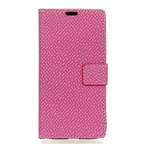 Unique WovenPattern Texture Wallet Leather Stand Cover Phone Cases for  iPhone 6 / 6S