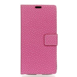 WovenPattern Texture Wallet Leather Stand Cover Phone Cases for  iPhone 6 / 6S -