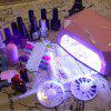 36W UV Lamp LED Ultraviolet Lamp Nail Dryer Diamond Shaped CCFL Curing for UV Gel Polish Tool -