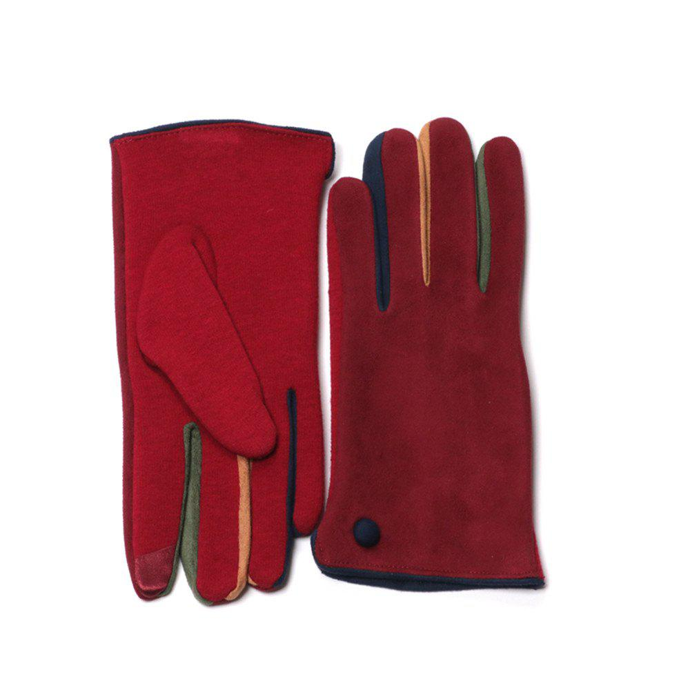Womens Winter Warm Touch Screen Gloves Texting Driving Lined Thick Gloves 237926605