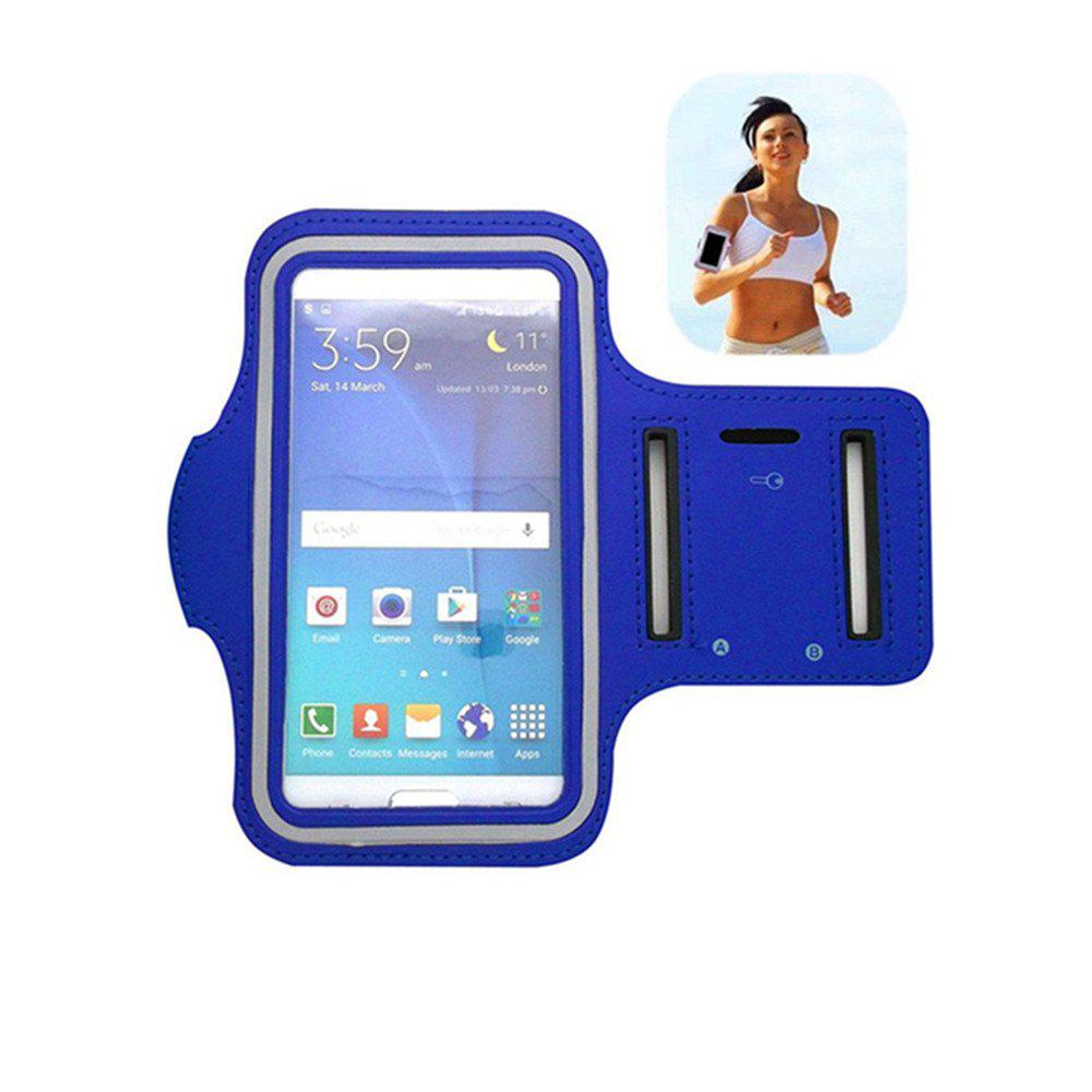 Trendy Yeshold Quality Sports Arm Double-hole Cover Case for iPhone 7 Plus Blue