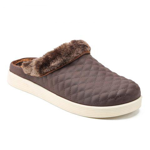 Store High Quality Winter Cotton-Padded Slippers