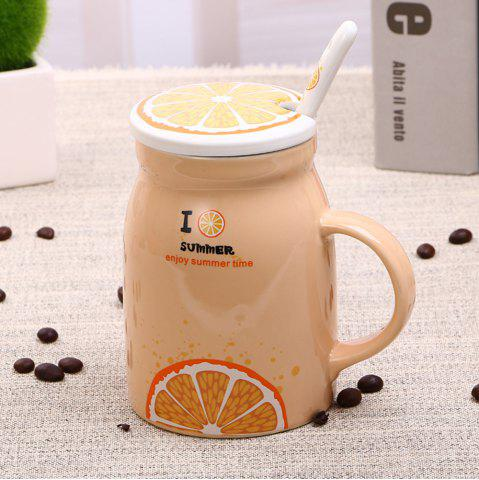 Buy 400Ml Summer Profusion Creative Ceramic Cup