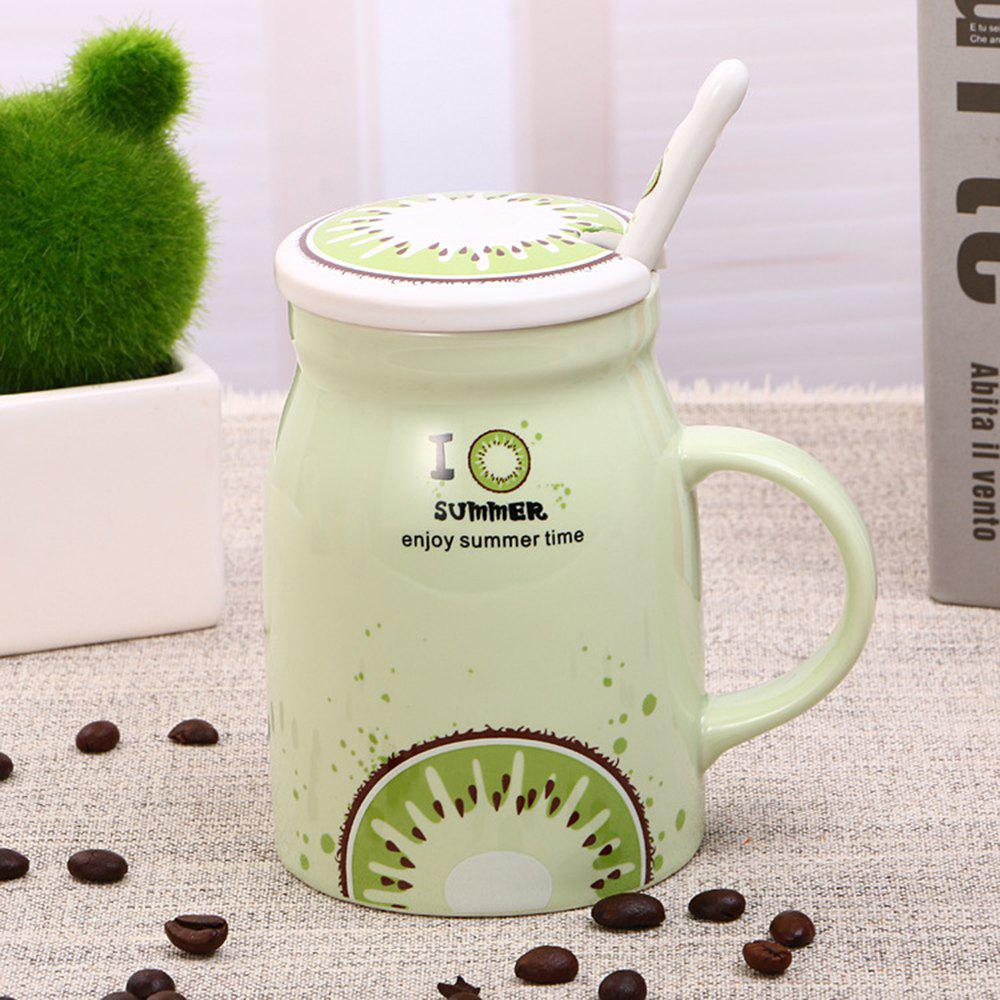 Sale 400Ml Summer Profusion Creative Ceramic Cup