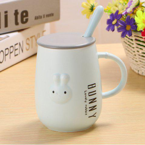 Chic 400ML Creative Embossed Cute Rabbit Mug