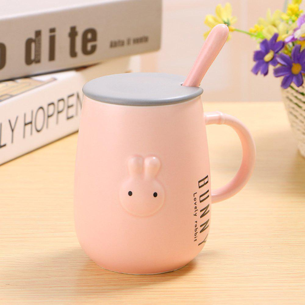 Outfits 400ML Creative Embossed Cute Rabbit Mug