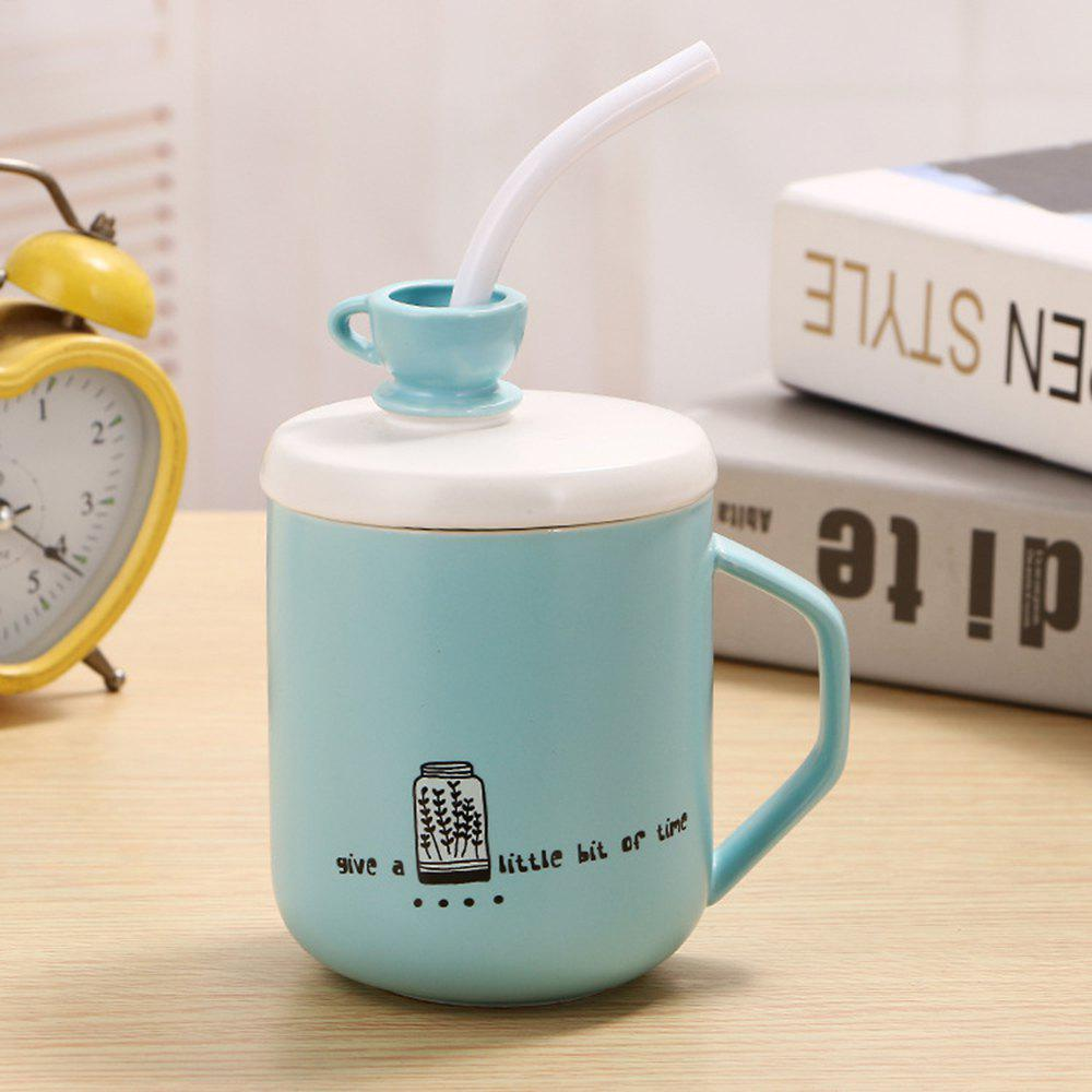 Discount 400Ml Straw Colored Glazed Candy-colored Ceramic Cup