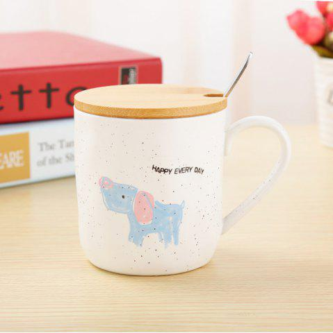Store 400ML Cartoon Animal Ceramic Mug