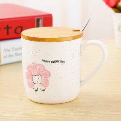 400ML Cartoon Animal Ceramic Mug -