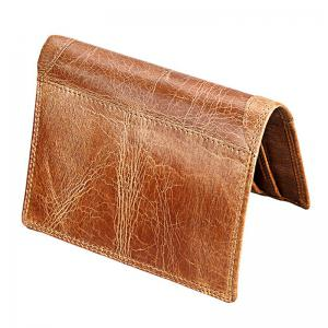 Men Leather Wallet Multifunctional Vertical Section Male Purses -
