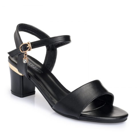 Cheap Thin Women'S Shoes with A High Heel and Thick Summer Sandals