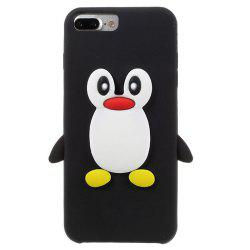 Case For iPhone 8 Plus  / 7 Plus Pattern Back Cover Cartoon Penguin Soft Silicone -