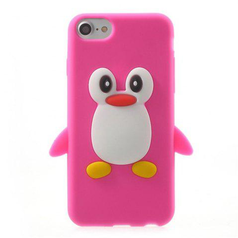 Affordable Case For iPhone 8 / 7 Pattern Back Cover Cartoon Penguin Soft Silicone