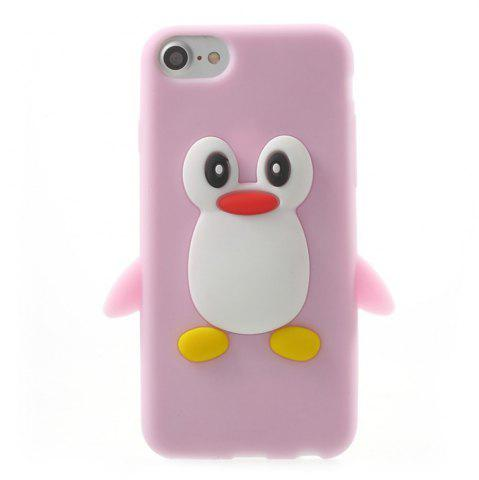 Latest Case For iPhone 8 / 7 Pattern Back Cover Cartoon Penguin Soft Silicone
