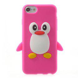 Case For iPhone 8 / 7 Pattern Back Cover Cartoon Penguin Soft Silicone -