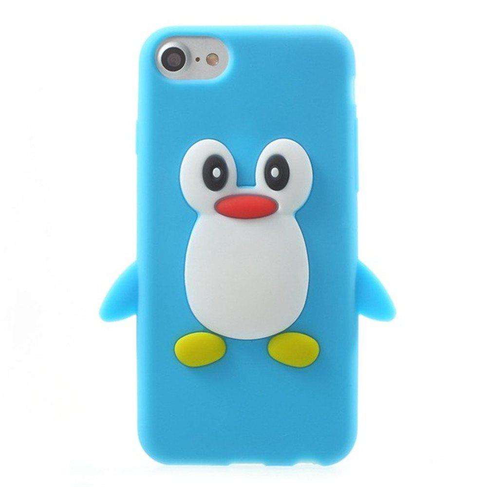 Buy Case For iPhone 8 / 7 Pattern Back Cover Cartoon Penguin Soft Silicone