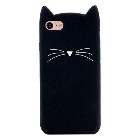 Affordable Case For iPhone 8 / 7 Pattern Back Cover Beard Cat Soft Silicone