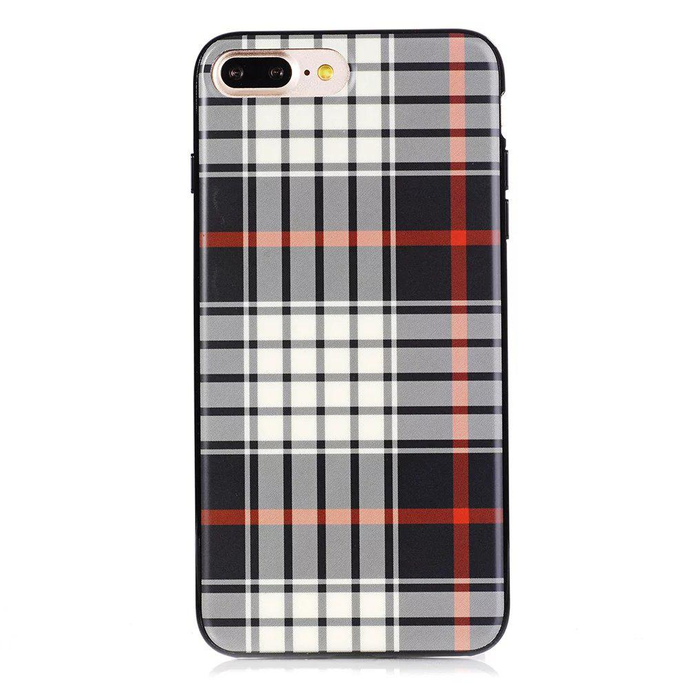 Fashion TPU Phone Case  Cover London Eye Design London England Collection for Apple iPhone 7 Plus / 8 Plus
