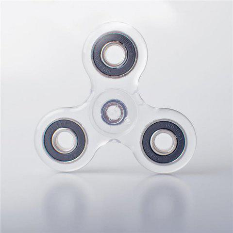 Unique Crystal ABS Fidget Spinner  with LED Light