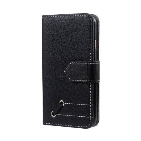Buy Vintage Small Hit Color PU Leather Wallet Case for iPhone 6