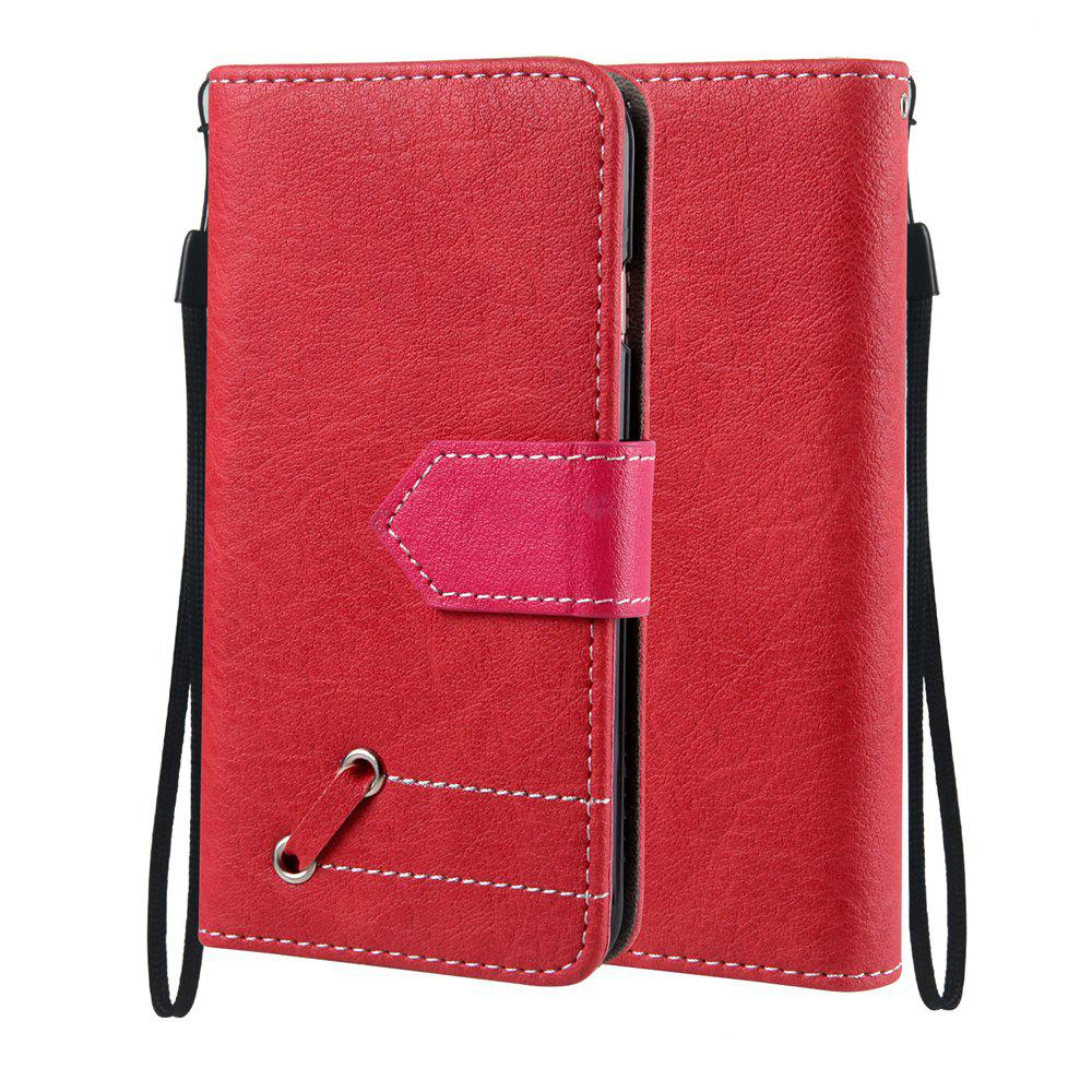 Shops Vintage Small Hit Color PU Leather Wallet Case for iPhone 6