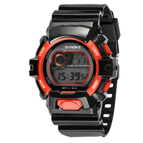 Shop SYNOKE 67556 Sports Fashionable Man Electronic Watch