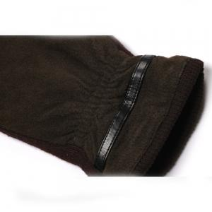 Winter Warm Elastic Cuff Men Gloves -
