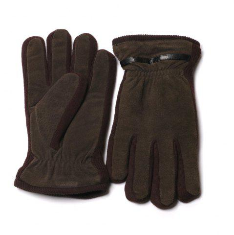 Discount Winter Warm Elastic Cuff Men Gloves