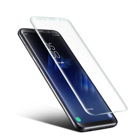 Online 0.1mm Ultra-thin PET Screen Protector for Samsung Galaxy S8 Plus 3D Heat bending Membrane