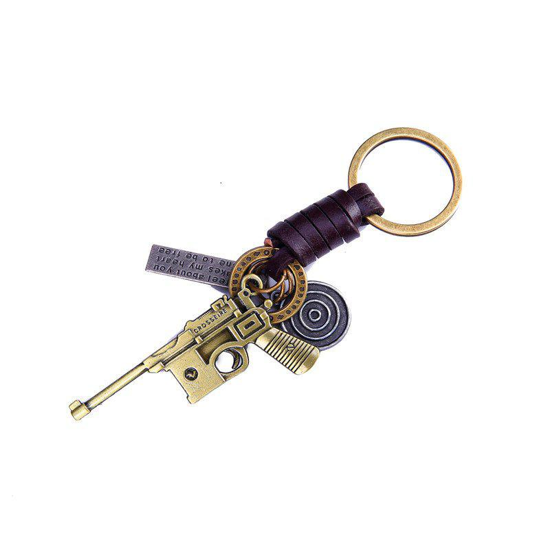 Latest Men's Key Rings Fashion Personality Shape Alloy Chain Accessory