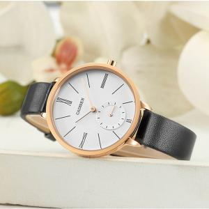 CADISEN C6135 Women Fashion Simple  Waterproof Student Quartz Watch -