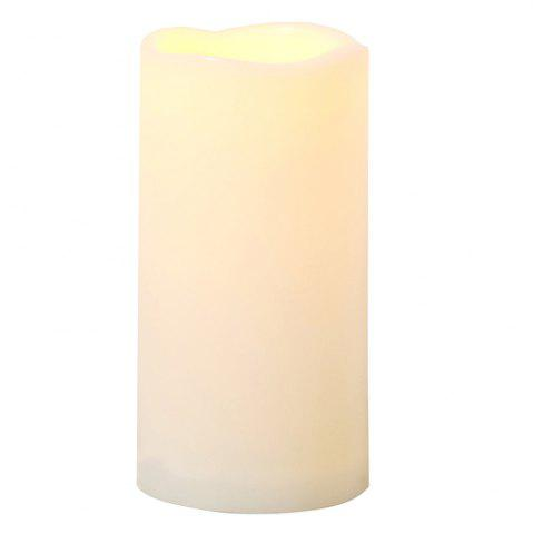 Sale Outdoor Flameless Candle with Timer Plastic Realistic Flickering Bright LED Pillar Long Battery Life