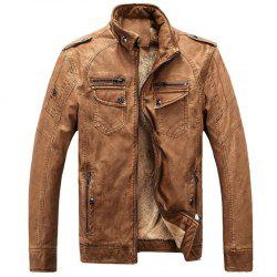 Long Brown Leather Jacket Cheap Shop Fashion Style With Free ...