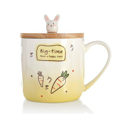 400ML Creative Rabbit Céramique Tasse