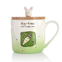 400ML Creative Rabbit Ceramic Cup -