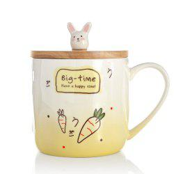 400ML Creative Rabbit Céramique Tasse -