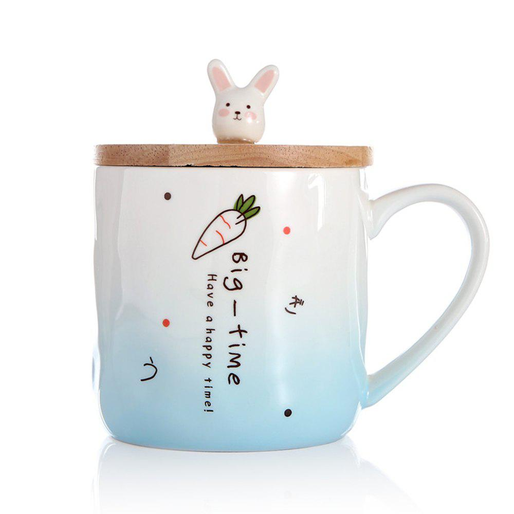 Fancy 400ML Creative Rabbit Ceramic Cup