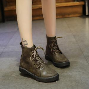 Autumn Winter British Vintage Boots -